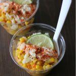 Corn in a Cup/ Elote en Vaso | Country Girl Gourmet