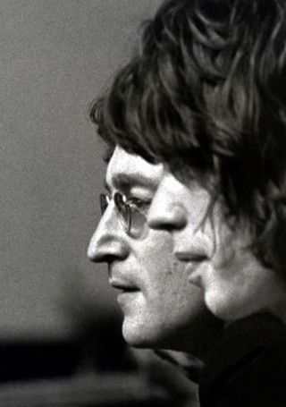 John Lennon and Mick Jagger Two rebels of the 20th century. Showed us how it was done.