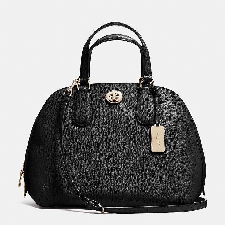 PRINCE STREET SATCHEL IN CROSSGRAIN LEATHER #coach #fetish #love