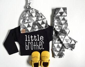 Baby Beer baby jongen nemen thuis outfit door PaisleyPrintsSpokane