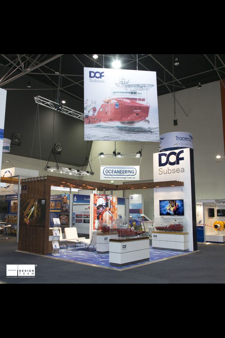 Marketing Exhibition Stand Xo : Best stand award for dof subsea s booth aog category