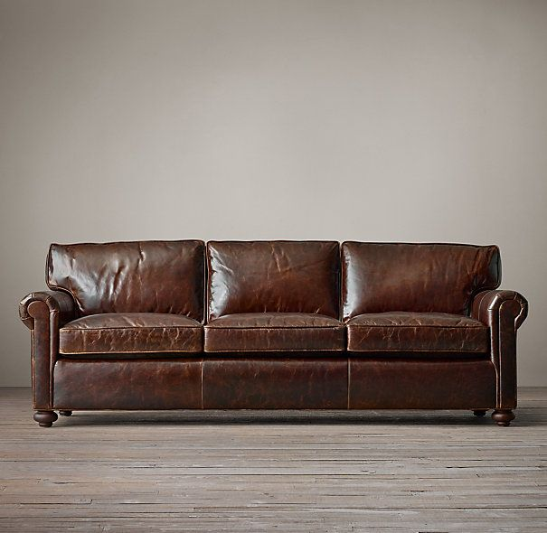 Restoration Hardware Lancaster Leather - so pretty....