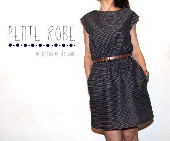 robe burda couture facile printemps/été 2012 par Jolies Bobines