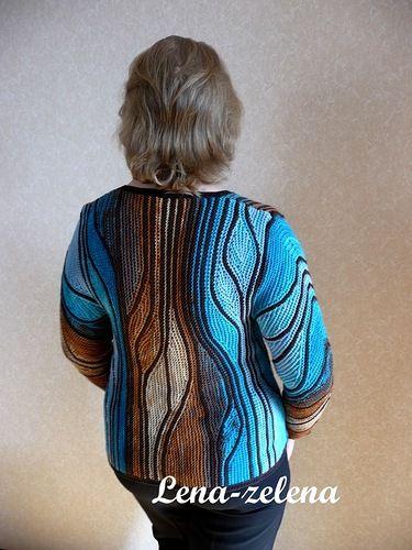 Свинг-вязание и укороченные ряды | Записи в рубрике Свинг-вязание и укороченные…