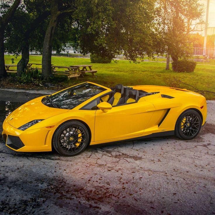 lamborghini gallardo spyder - Yellow Lamborghini Gallardo Spyder Wallpaper