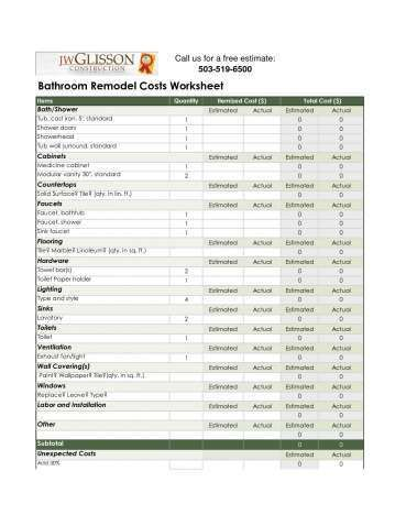 kitchen remodeling costs estimator remodel estimator latest bathroom