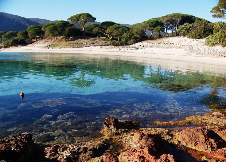plage, Porto Vecchio, Corse