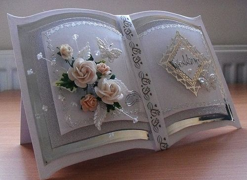 handmade wedding cards - Google Search