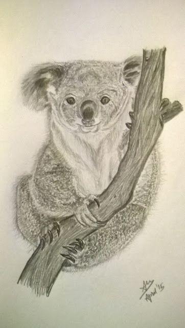 Organic Paint Brush: Koala
