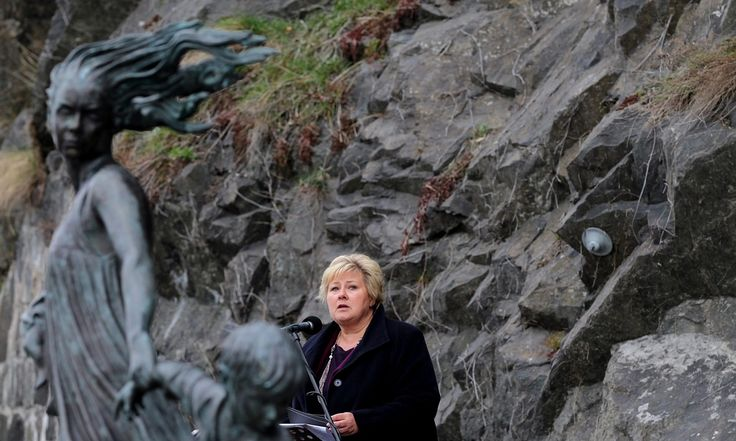 Prime minister Erna Solberg apologises for discrimination which led to dozens of Roma dying in Nazi death camps after being denied re-entry into Norway