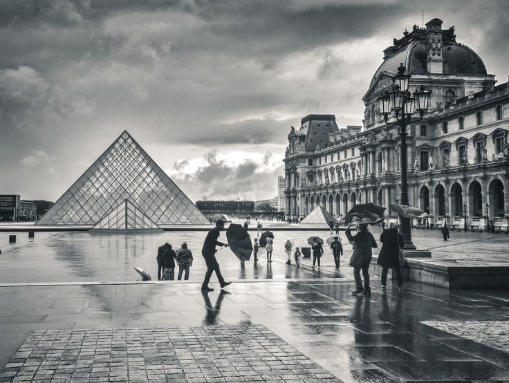 Stormy day at the louvre photo by will rice 2016 national geographic travel photographer of the year