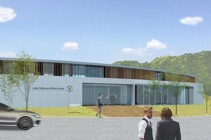 """ジュビロ磐田の新施設「(仮称)Jubilo Clubhouse・Athlete Center」を渡辺隆建築設計事務所が設計。 Takashi Watanabe designed """"(Tentative name) Jubilo Clubhouse・Athlete Center"""" for japanese pro football team""""Jubilo Iwata"""" in Shizuoka, Japan. detail : http://architecturephoto.net/59171/ ・ その他の建築写真は→ @architecturephotonet (more japanese architectural photos) ・ #architecture #architect #archi #architettura #architektura #architetto #arkitektur #arkitekt #japan #建築 #建築写真 #建築家 #建築士 #design #designer #デザイン #デザイナー #住宅 #house #デザイナーズ…"""