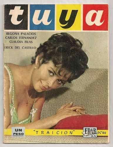 Lote 2 Fotonovelas Claudia Islas Begoña Palacios De 1968