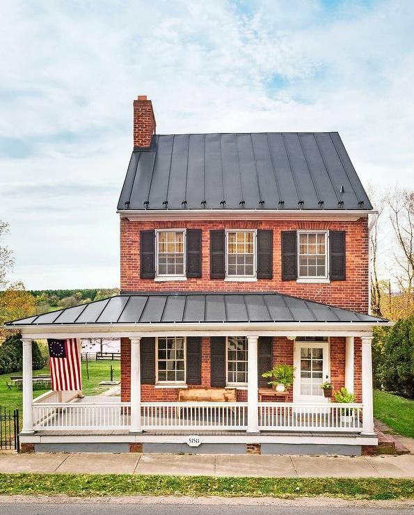 Presenting This Classic 2 Story Colonial House Designed In