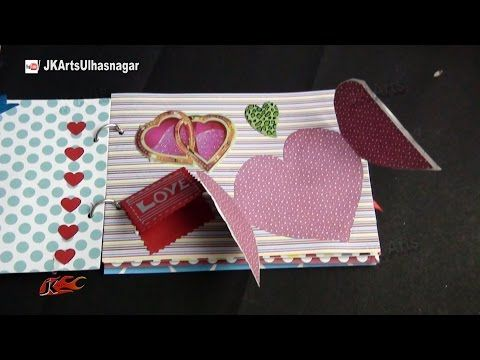DIY Paper Crafts - How to make a Smash Book Slim - Birthday Gift Idea - Giulia's Art - YouTube