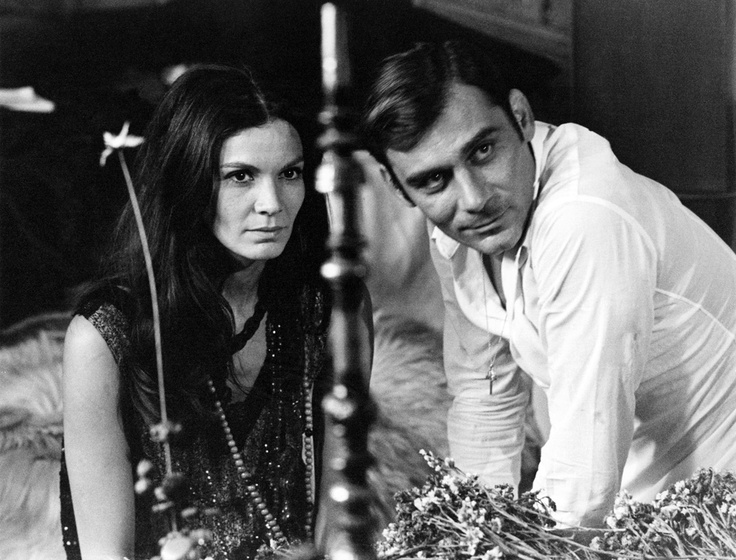 Florinda Bolkan and Gianmaria Volontè, one of the best italian actors of all times