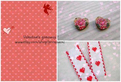 Prosinemi's creations: Valentine's giveaway