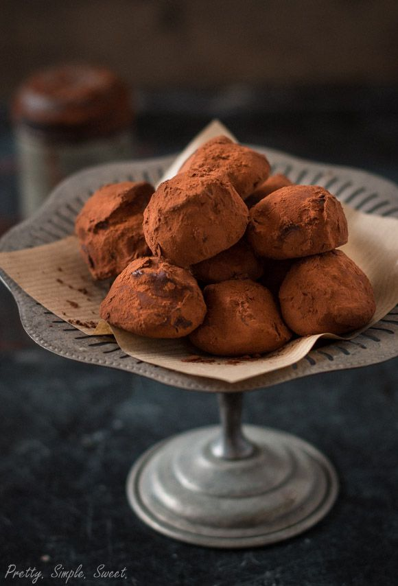 Fudgy with a rich chocolate flavor, these classic bite-size chocolate truffles are a breeze to make and need only a handful of simple ingredients.