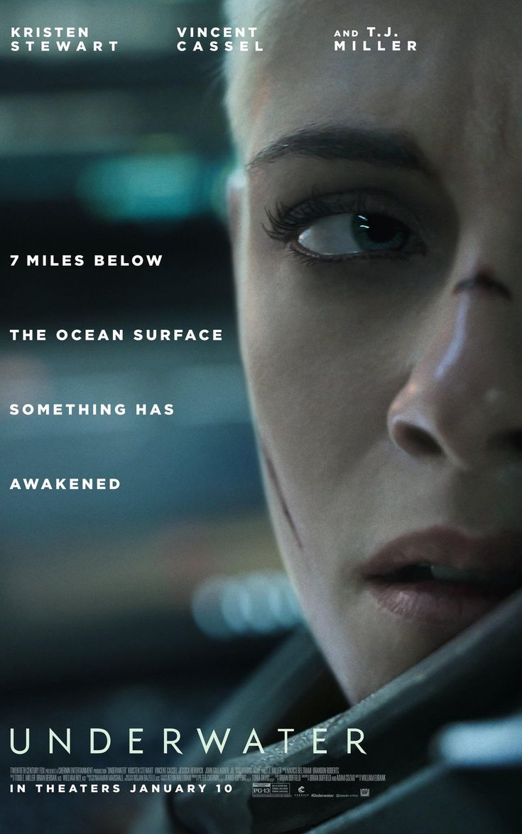First poster for underwater new horrorscifi with kristen