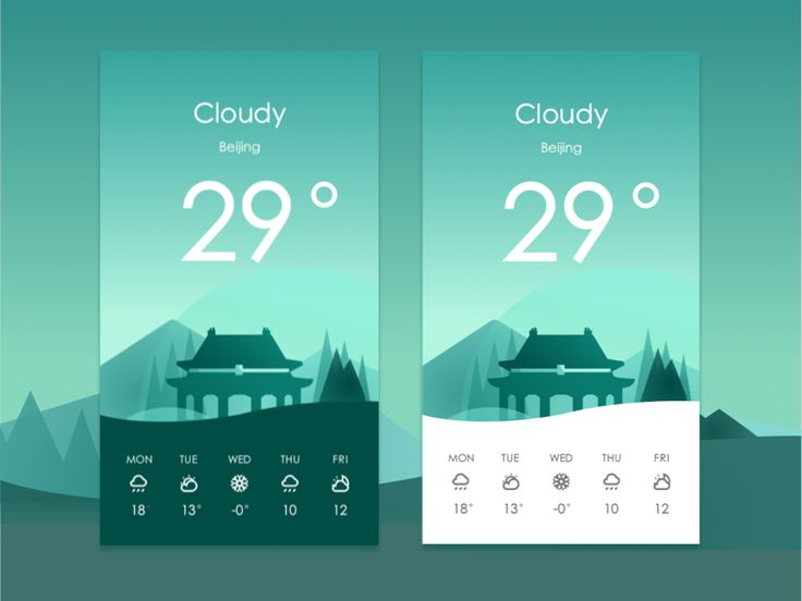 "查看我的 @Behance 项目:""weather  app""https://www.behance.net/gallery/47351913/weather-app"