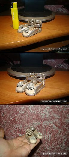 Туфли для маленькой принцессы / Одежда и обувь для кукол - своими руками и не только / Бэйбики. Куклы фото. Одежда для кукол