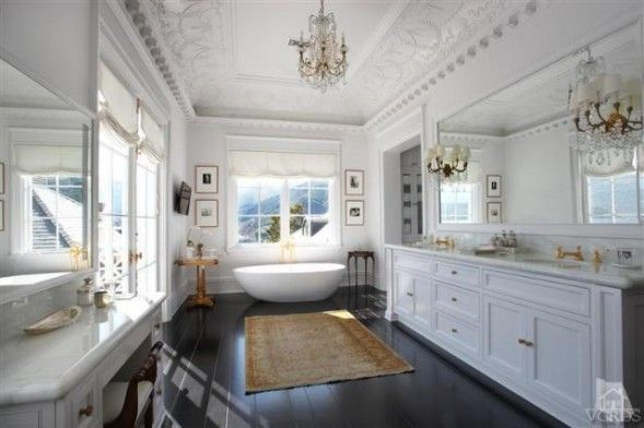 a not so normal bathroom that gives inspiration - wayne gretzky's master ensuite