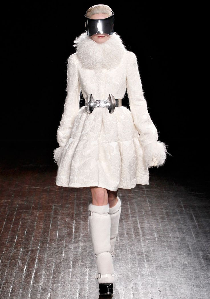 Alexander McQueen Fall 2012.  This whole collection makes me think of Blade Runner.