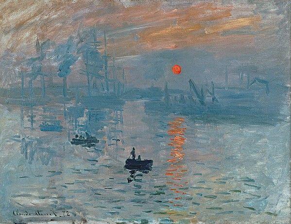 Impression Sunrise Print by Claude Monet