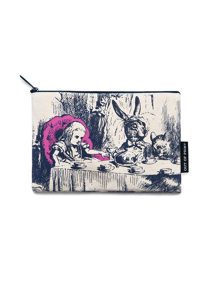 Alice in Wonderland Pouch – Literary Gifts for Her