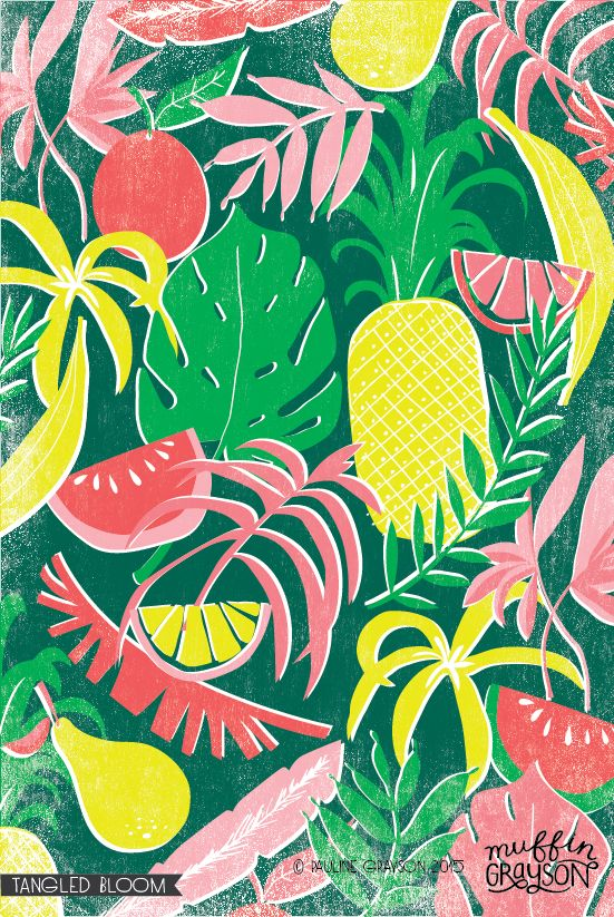 Tropical Sketches | Muffin Grayson