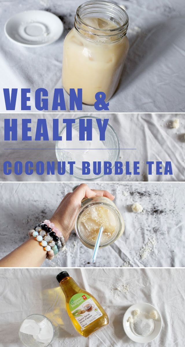 Addicted to bubble tea or just looking for a vegan milky summer drink - substitute the chemical filled bubble tea from stores, and your coffee with this delicious yummy bubble tea. Bubble tea recipe is on the blog, click image.