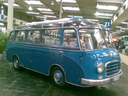 Setra S6 bus
