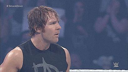 Caliente y con un sexy cuerpazo... Amo a este Hombre...  <3 <3 Mi Super Estrella Favorita <3 <3 <3 El Medio Lunático Dean Ambrose <3 <3