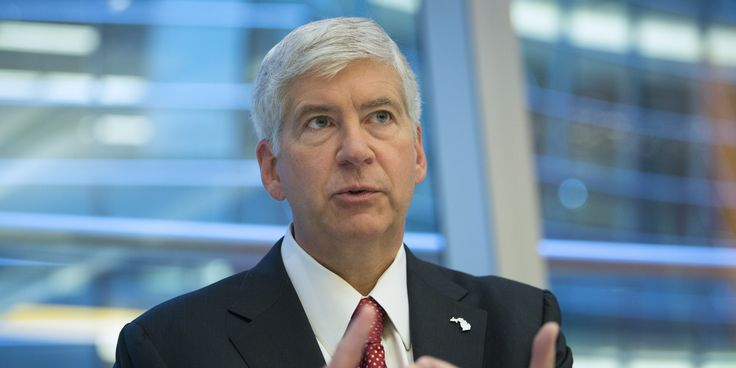 """WASHINGTON -- Michigan Gov. Rick Snyder (R) had two messages Friday about the need for immigration reform: the status quo is dumb, and not fixing it for political reasons would be even dumber. """"To be blunt, we have a dumb system,"""" he said during remarks on immigration, using a phrase he'd repeat a few times."""