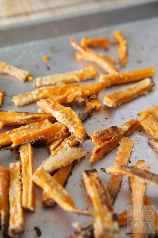 how to cook sweet potato fries in oven