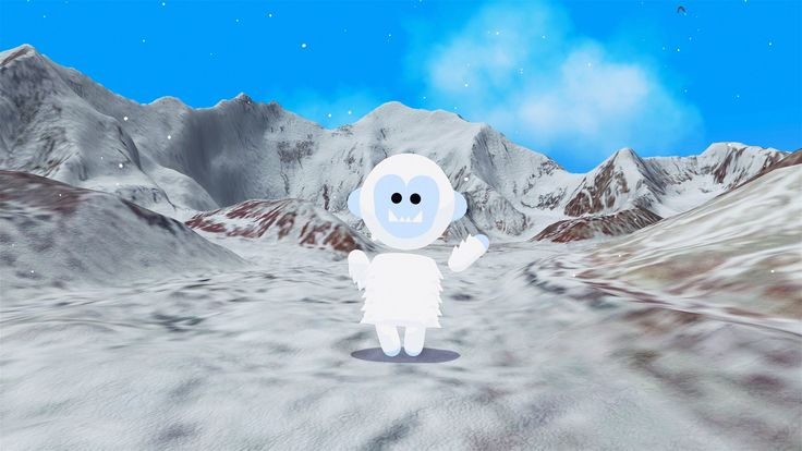Verne: The Himalayas - Explore 3D Google Maps imagery as a 500 ft Yeti