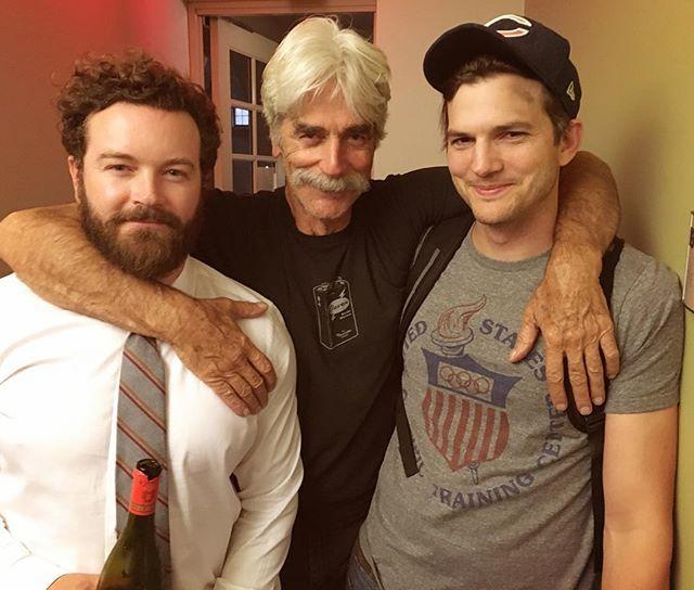Ashton Kutcher,Sam Elliott & Danny Masterson