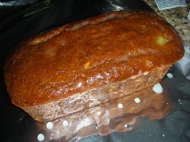 New Zealand Kiwi Bread from Food.com: This yummy quickbread is great with a hot cup of tea or coffee! Recipe found at cooks.com