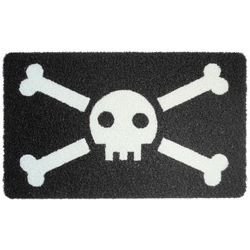Kikkerland Jolly Roger Doormat I Had One Of These Until