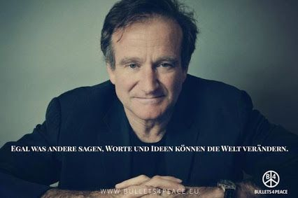 No matter what anybody tells you, words and ideas can change the world. #RobinWilliams O Captain #RIPRobinWilliams