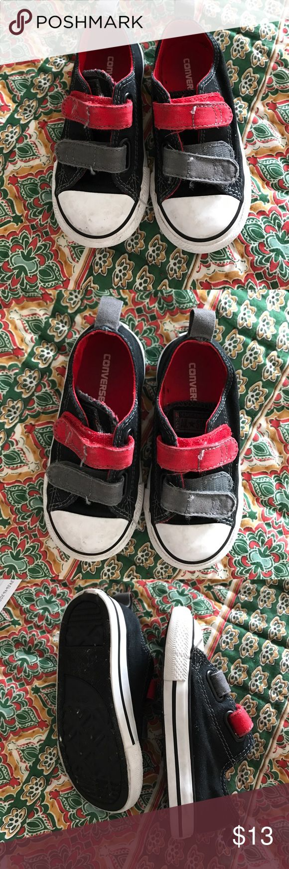 Boys Converse shoes Pictures show the signs of wear and price reflects the condition Shoes Baby & Walker