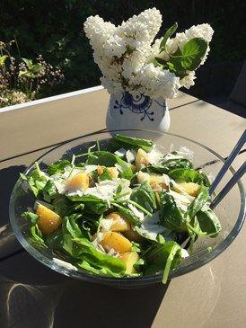 Vi ELSKER at grille. Maden smager bare så meget bedre når solen har skinnet hele dagen og maden kan indtages på terrassen. Forleden sommeraften havde vi besøg