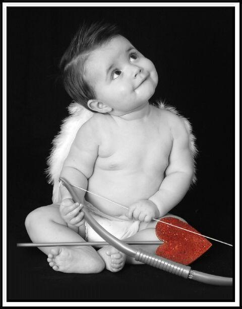 Cupid <3 Chris when he was little## Love#
