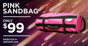 This weekend only!  Pink Sandbag = $99!  You know your mom deserves it   http://dailyhiit.myshopify.com/collections/frontpage/products/hiit-sand-bag