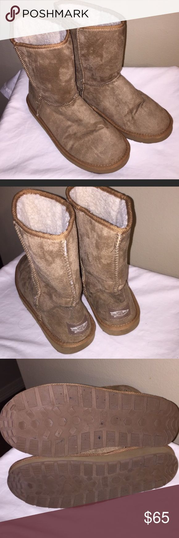 Vans Boots. Very nice Vans boots only used less than two times.  Boots excellent conditions.  no box Vans Shoes Winter & Rain Boots