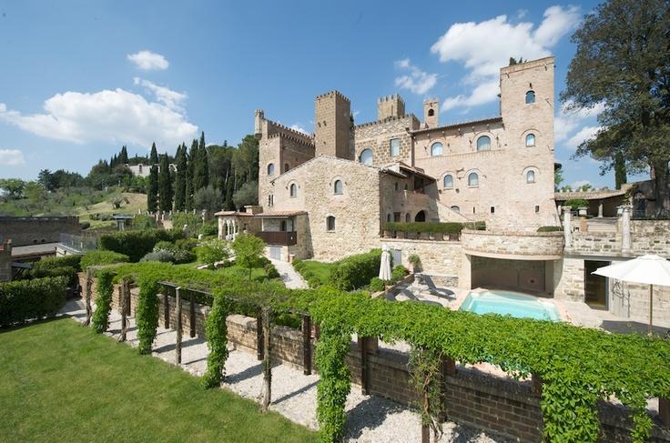 the southern façade  #umbria #travel #hotel