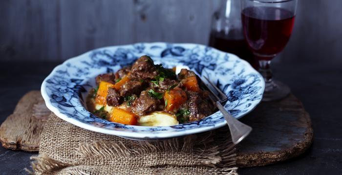 Estofado de carne y calabaza http://www.carnivorosgourmet.es/ver_recetas_sencillas.php?id_receta=387 #gastronomía #recetas