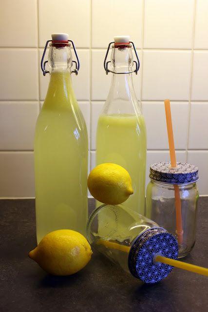 Mijn kookdagboek: homemade citroenlimonade