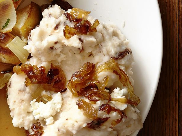 Mashed Potatoes With Caramelized Onions And Goat Cheese Recipes ...