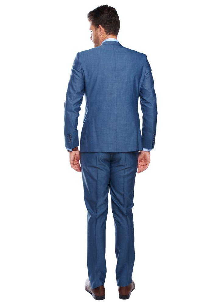 Slim Fit Mavi Takım Elbise - Altınyıldız Classics